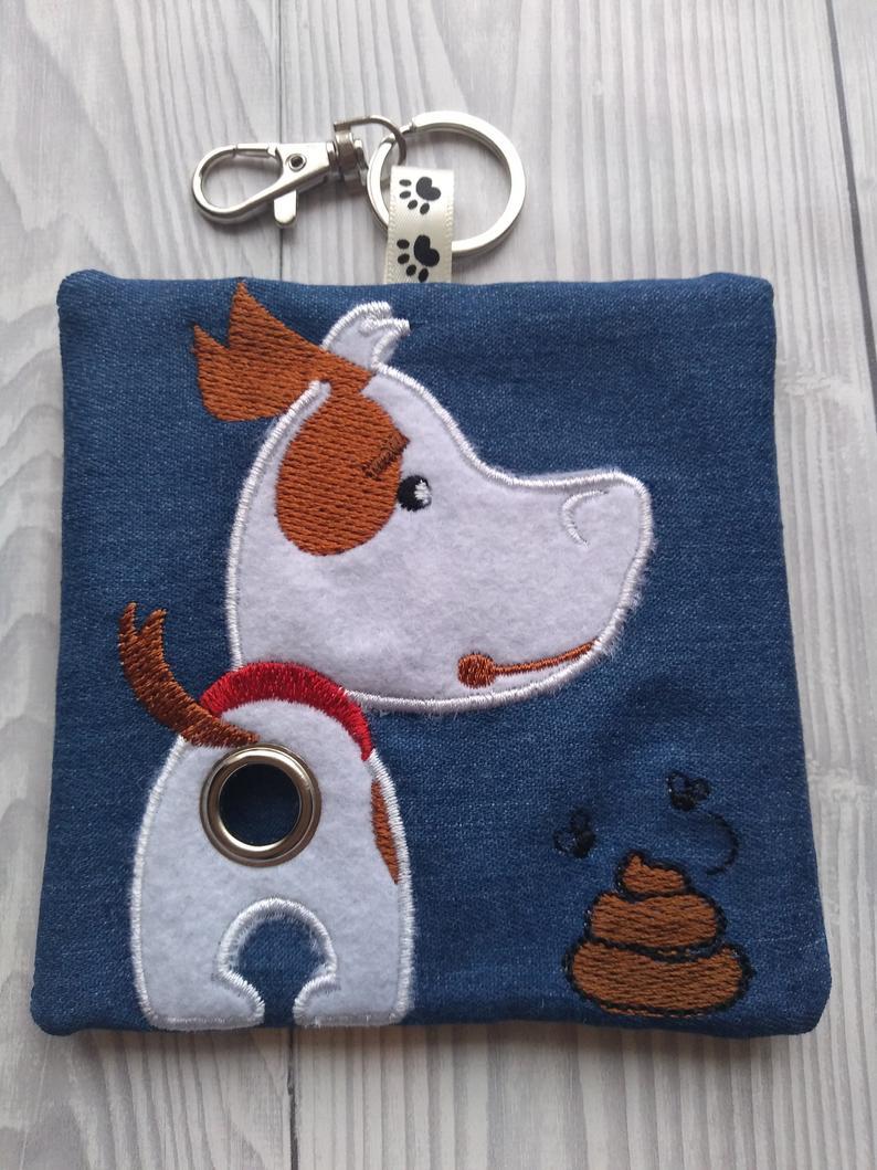 Jack Russell Eco Plastic Free Dog Poo Bag Holder Kind Shop 2