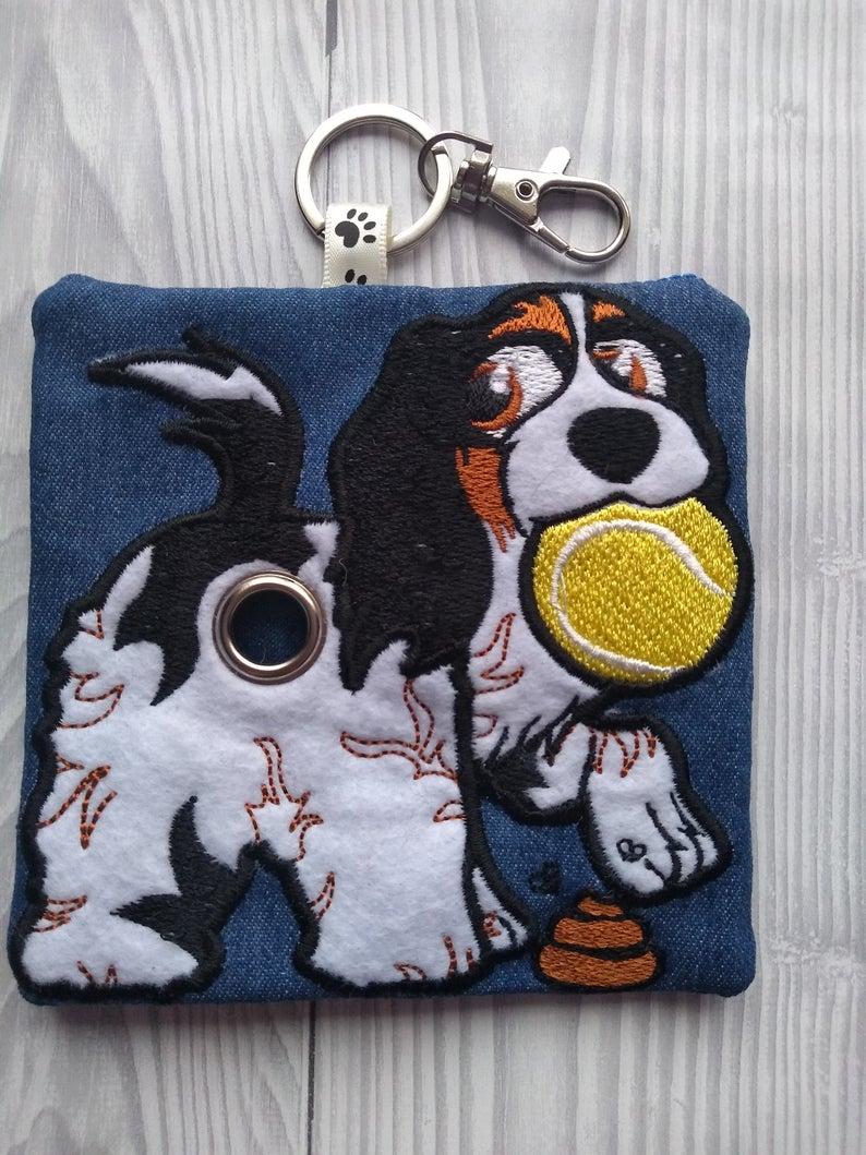 King Charles Cavalier Spaniel Eco Plastic Free Dog Poo Bag Holder Kind Shop