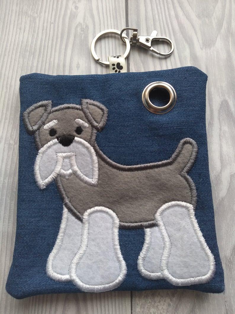 Schnauzer Eco Plastic Free Dog Poo Bag Holder Kind Shop 3