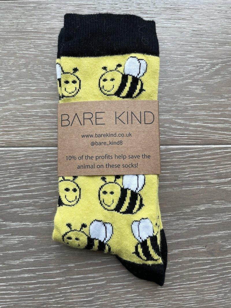 'Save the Bees' Bamboo Socks Kind Shop