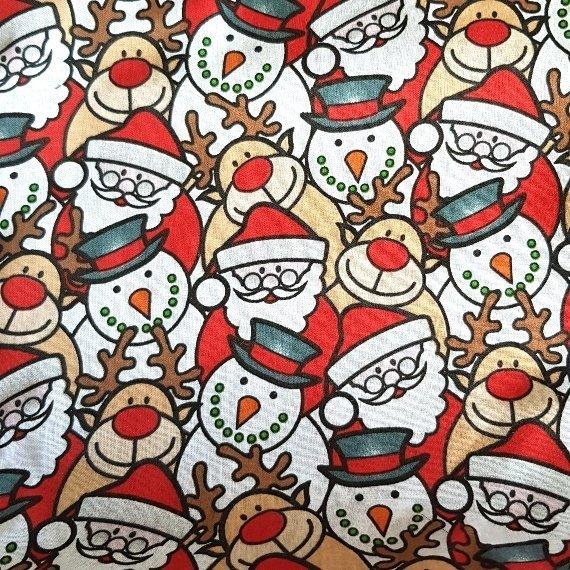Christmas Characters Eco-Friendly Fully Lined Reusable Christmas Gift Bag Kind Shop 10