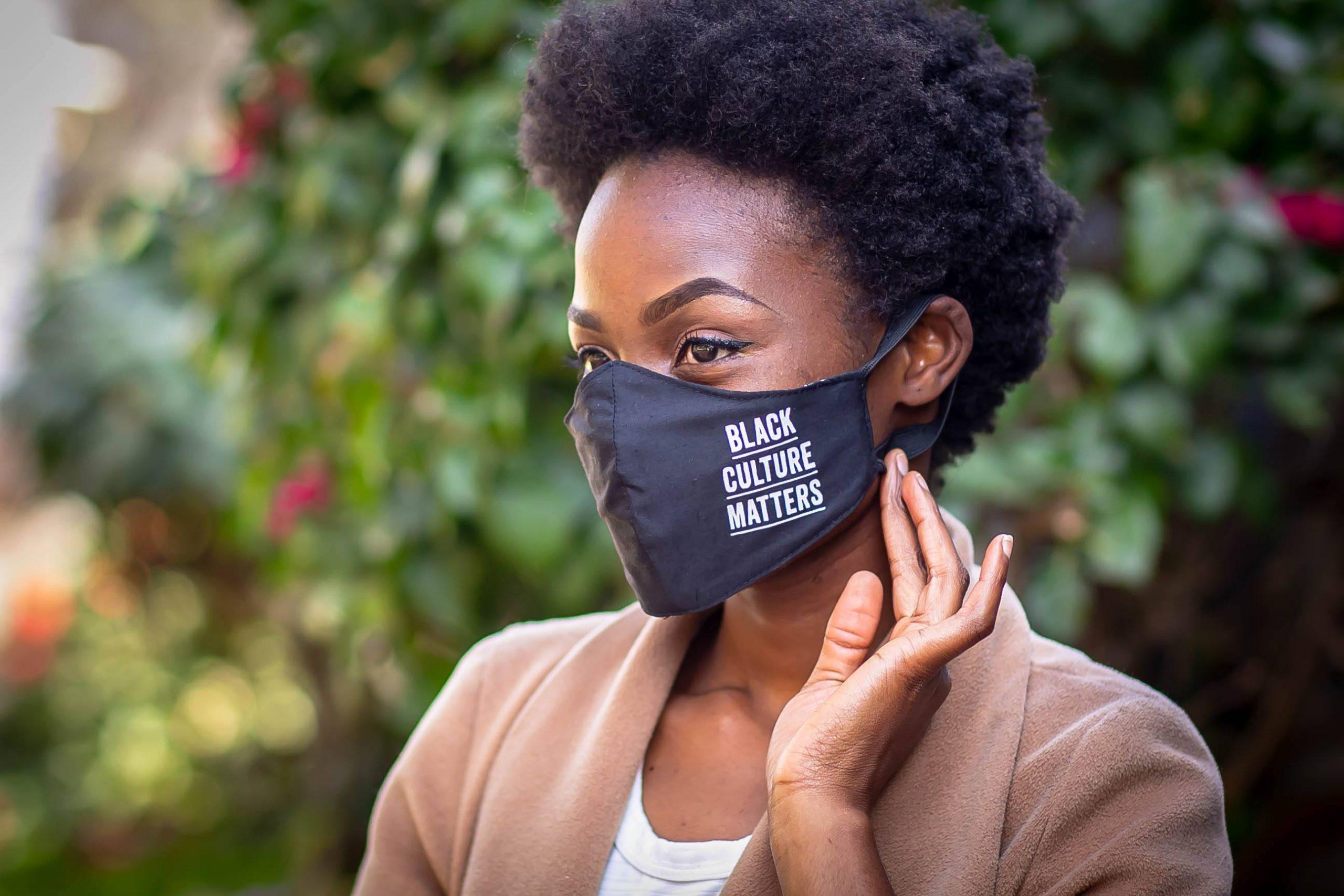 Reusable Designer Face Mask - Black Culture Matters