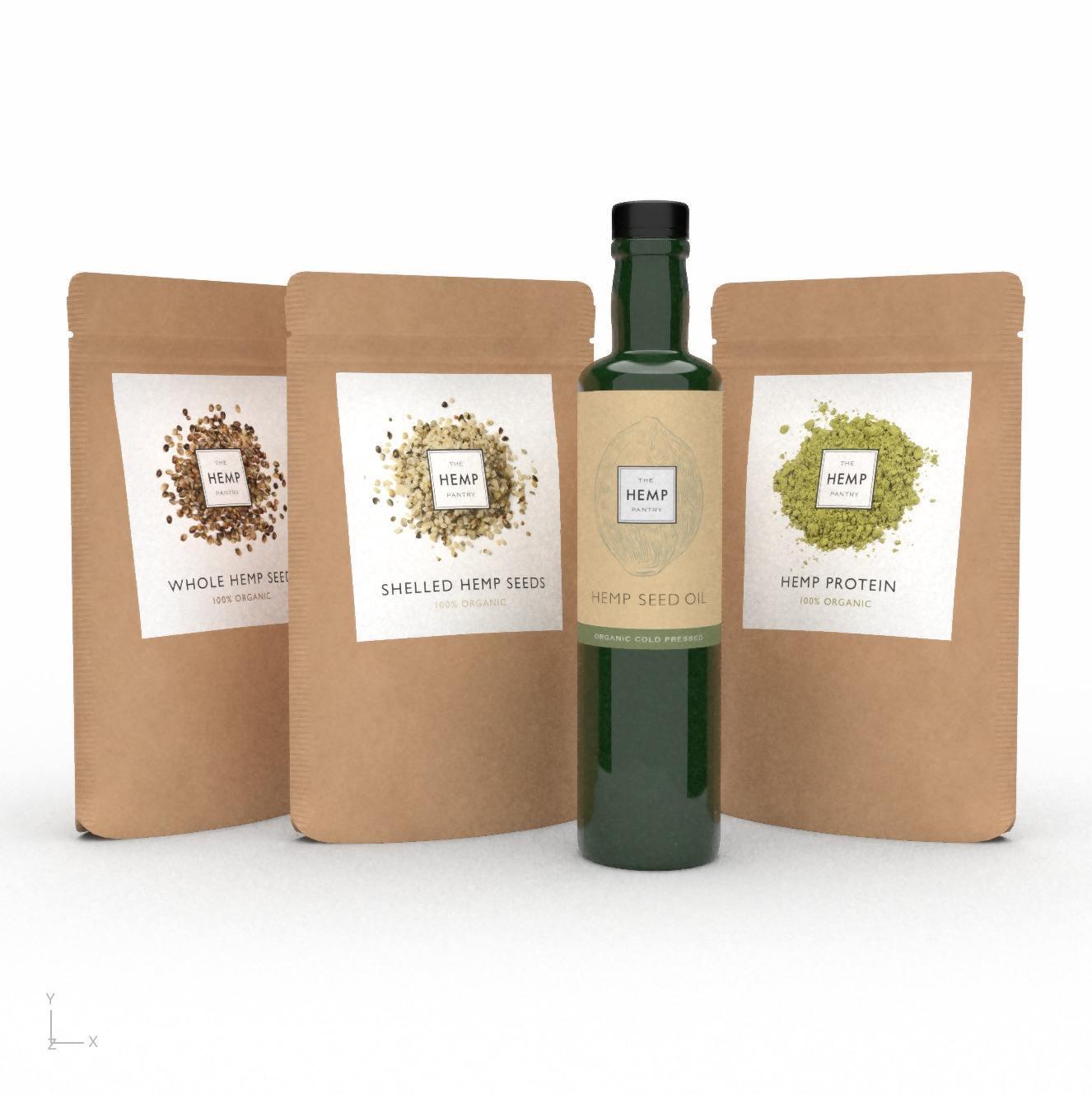 ORGANIC HEMP ESSENTIAL SELECTION (4 pack) Kind Shop