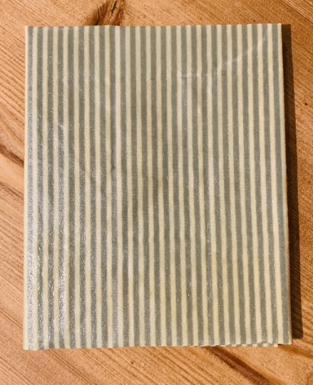 Extra Large Beeswax Wrap – Bread Wrap (Pale Green Pinstripe) Kind Shop