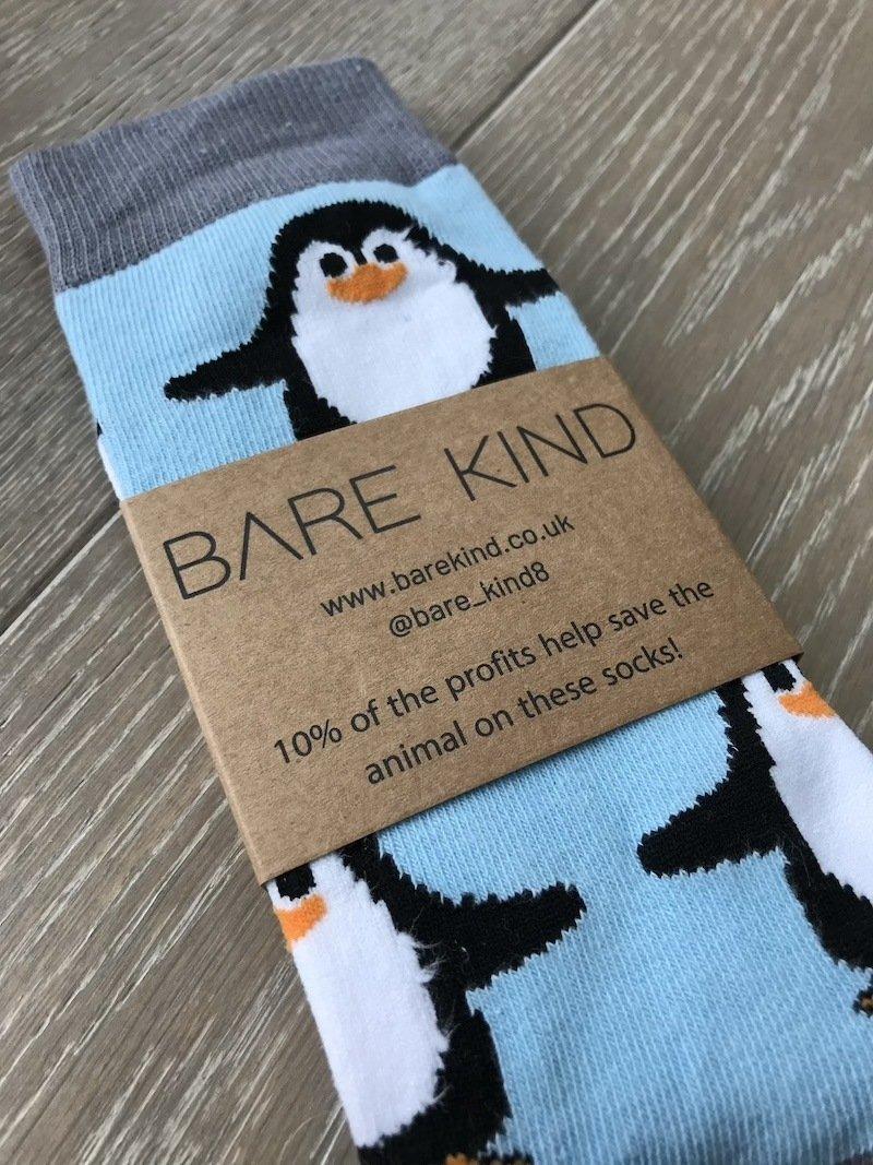 Penguin Socks Giving back endangered species
