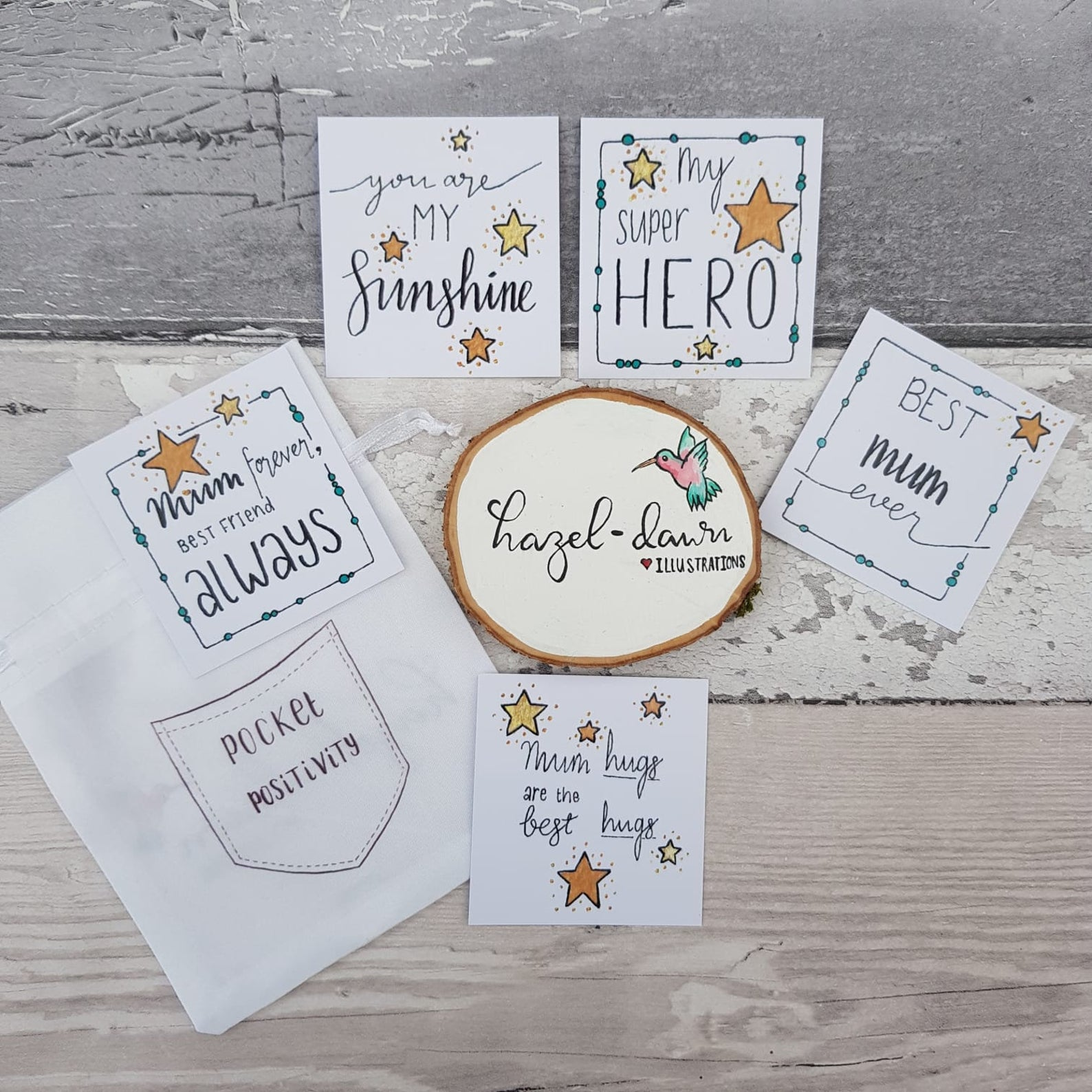Pocket Positivity Cards - Mothers Day Mum Quotes & Affirmations