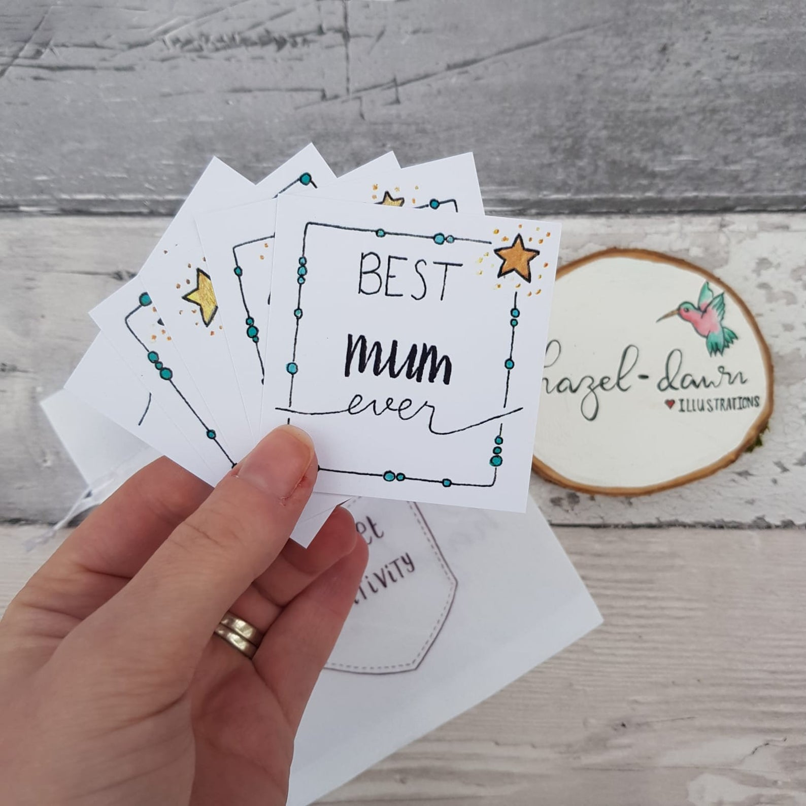 Pocket Positivity Cards - Mothers Day Mum Quotes token