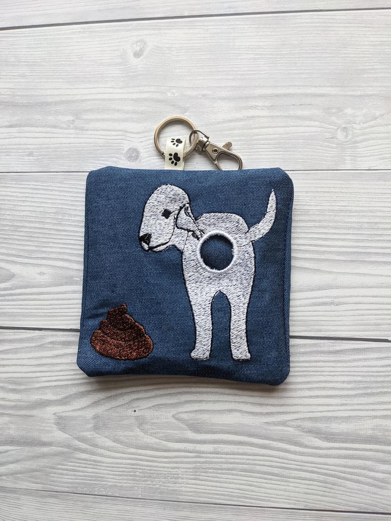 Bedlington Terrier Eco Plastic Free Dog Poo Bag Holder Kind Shop 4