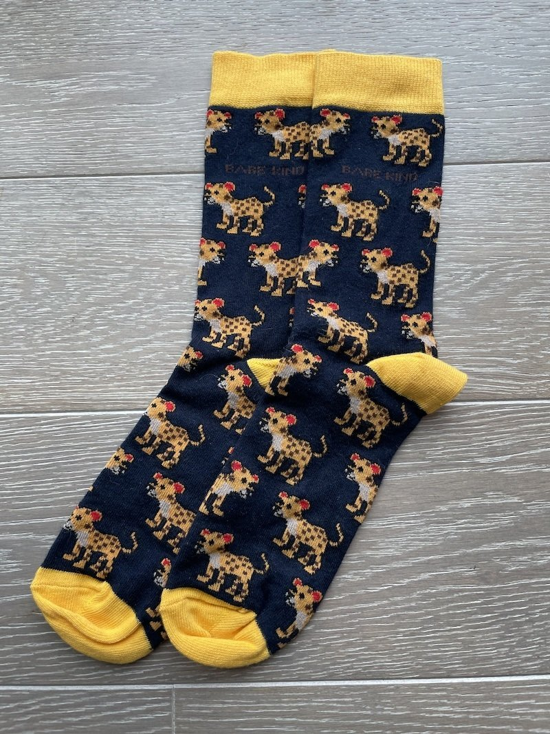Save the Leopard Socks