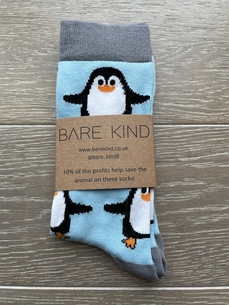 'Save the Penguins' Bamboo Socks Kind Shop