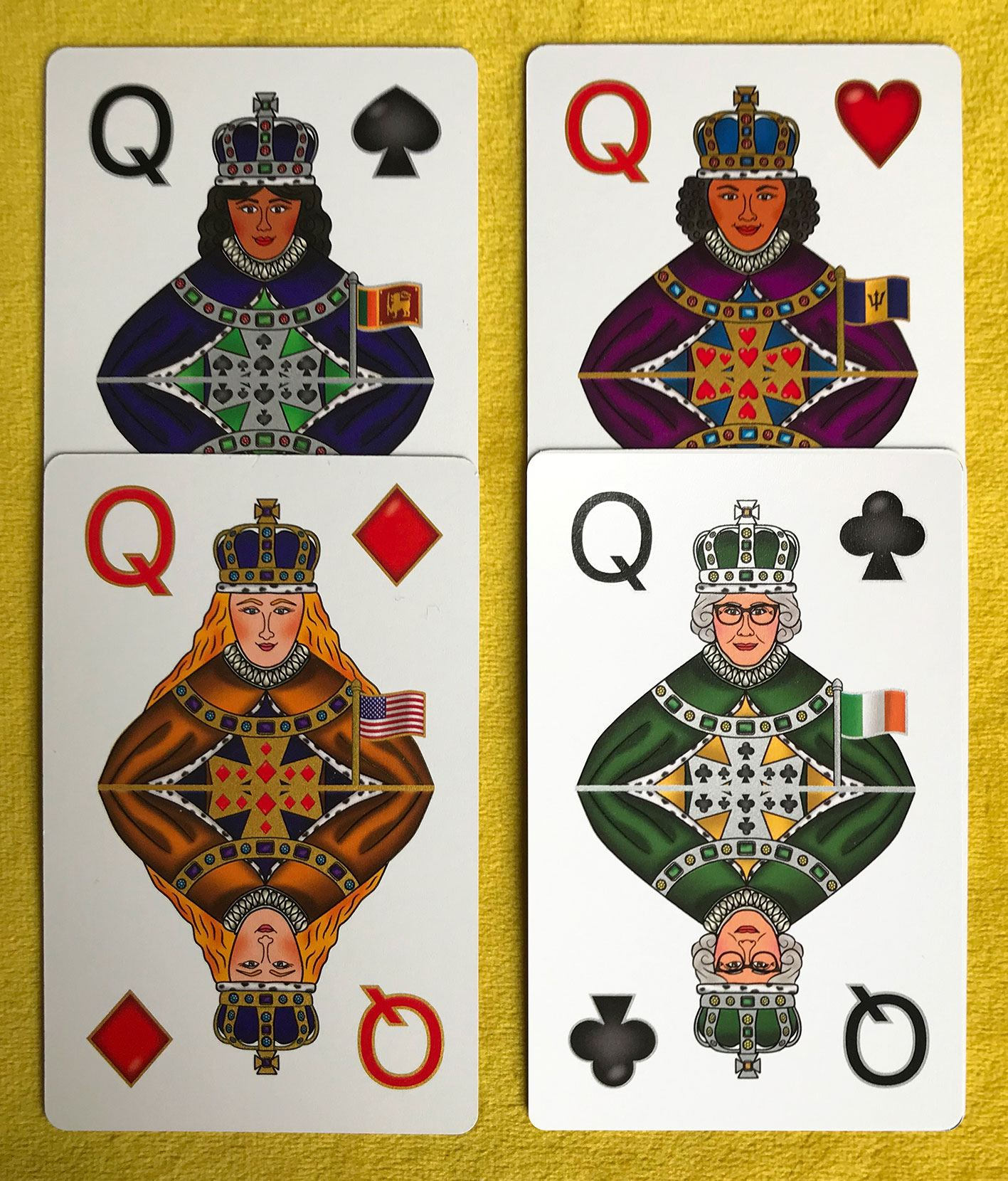 Be Illustrated on a Playing Card – Multicultural Skin Colour Card Deck, Celebrating Diversity Kind Shop 7
