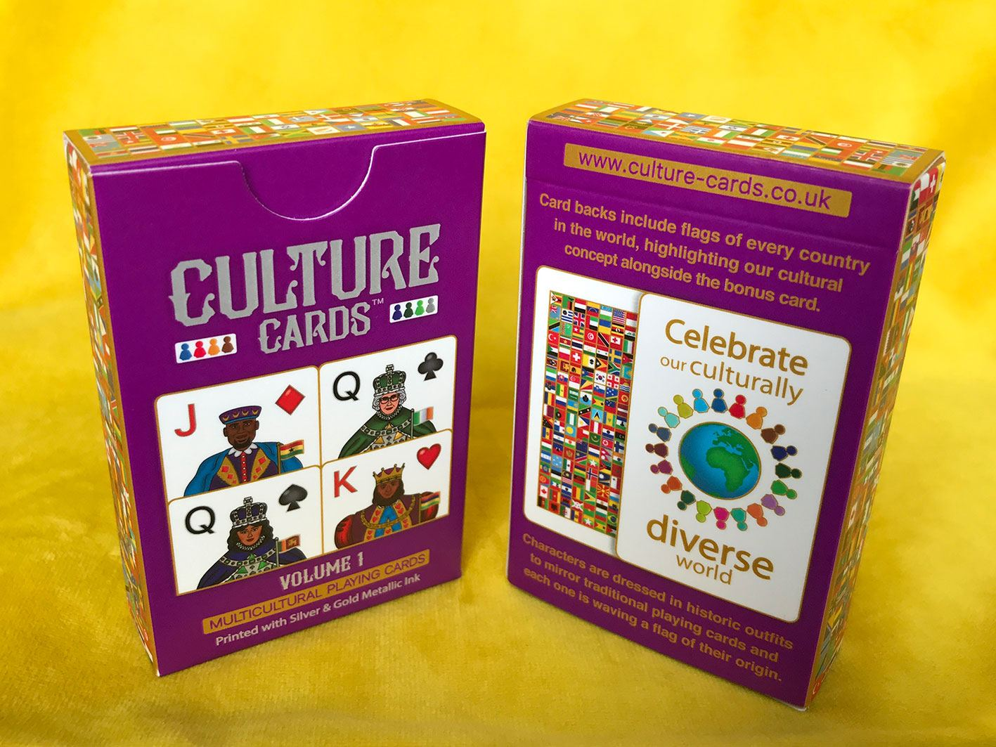 Culture Cards Deck - Multicultural Playing Cards Celebrating Diversity