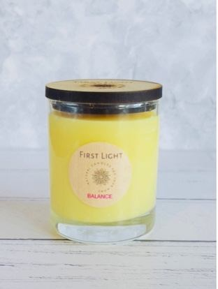 Soy Wax Candle with Geranium & Sweet Orange Essential Oils. Kind Shop 2