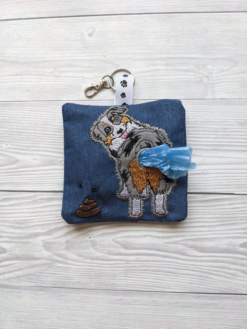 Australian Shepherd Plastic Free Eco Poo Bag Holder Kind Shop 4