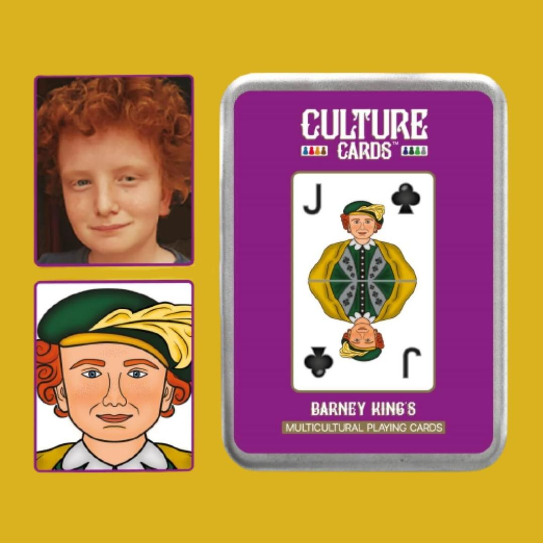 Face on Playing Cards, personalised kids gift