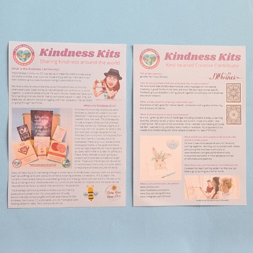 Hope themed Kindness Kit. Self Care Package Gift, Letterbox Friendly Kind Shop 12
