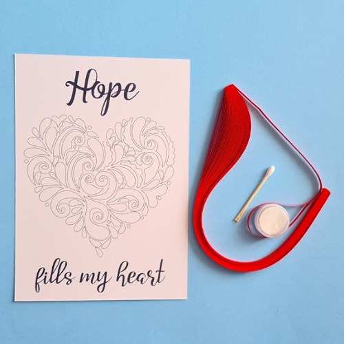 Hope creative craft therapy