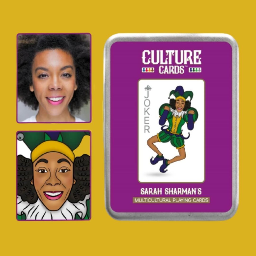 Be Illustrated on a Playing Card – Multicultural Skin Colour Card Deck, Celebrating Diversity Kind Shop 3