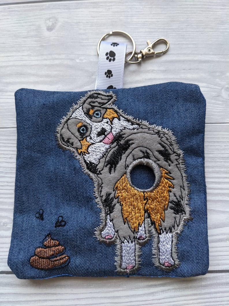 Australian Shepherd Plastic Free Eco Poo Bag Holder Kind Shop 2