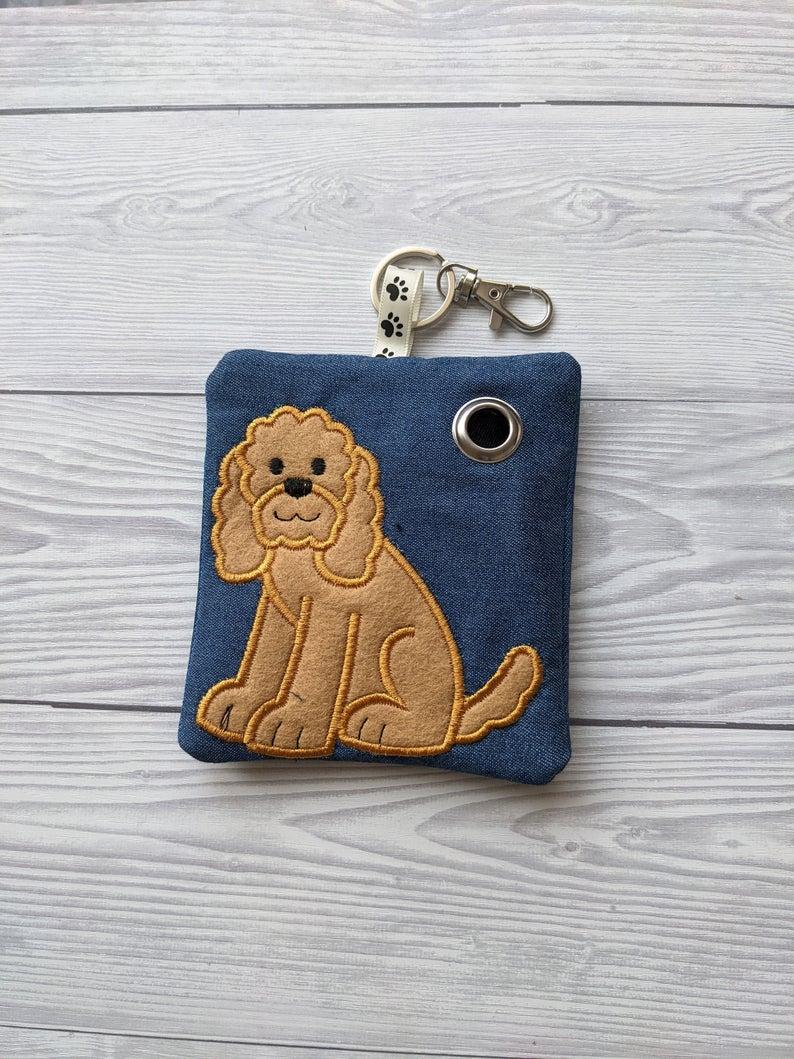 Cockapoo Eco Plastic Free Dog Poo Bag Holder – Light Brown Kind Shop