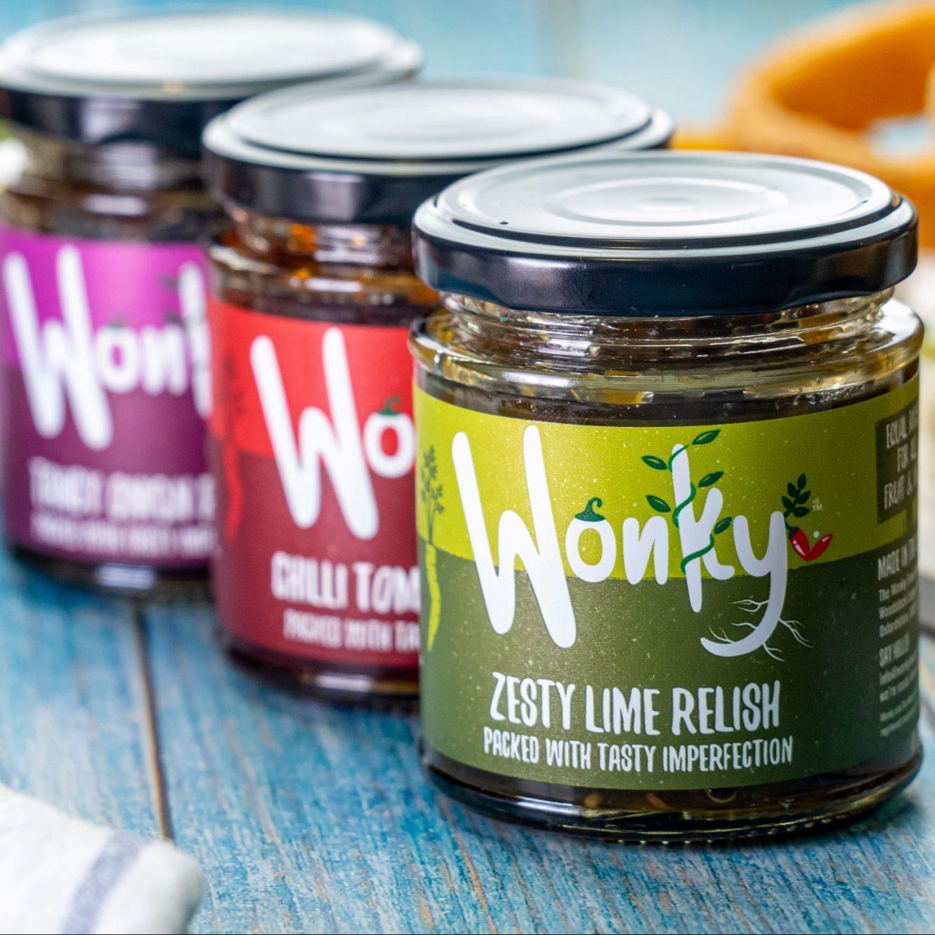 Wonky Food Company - Reduce food Waste Relish Gift Box