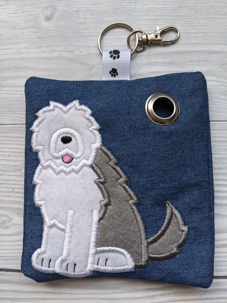 Old English Sheepdog Plastic Free Eco Poo Bag Holder Kind Shop 2