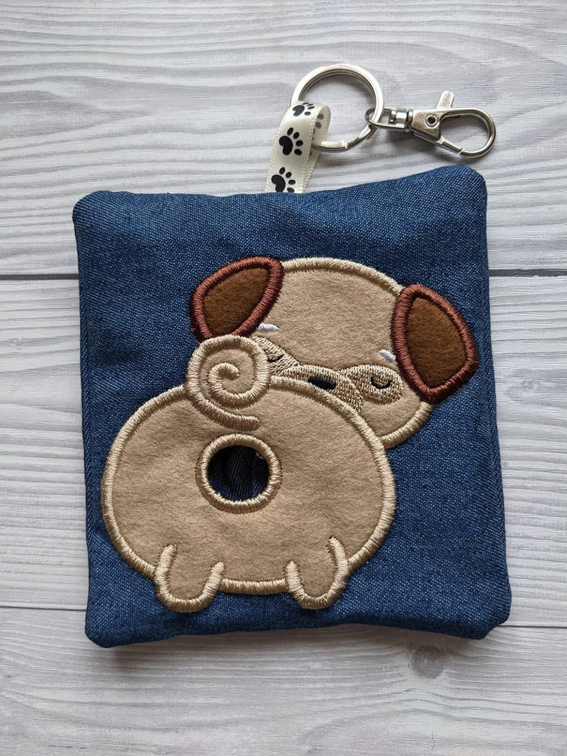Pug Eco Plastic Free Dog Poo Bag Holder Kind Shop 2