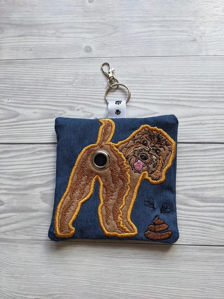 Cockapoo Plastic Free Eco Poo Bag Holder – Brown Kind Shop