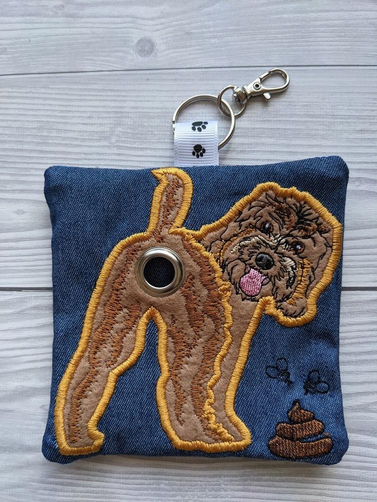 Cockapoo Plastic Free Eco Poo Bag Holder – Brown Kind Shop 3
