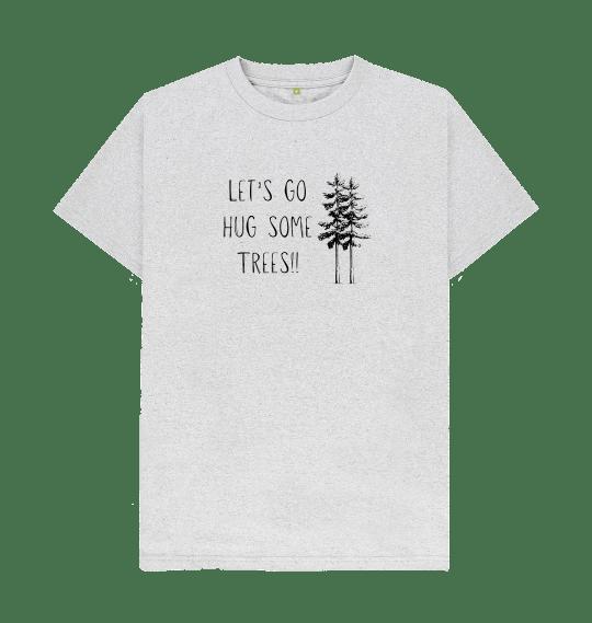 tree hugger t shirt mens