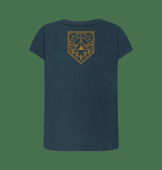 Nature Heart Adventure Women's Organic Cotton Vegan T Shirt