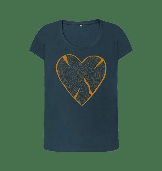 Nature Heart Adventure Women's Organic Cotton Vegan Top