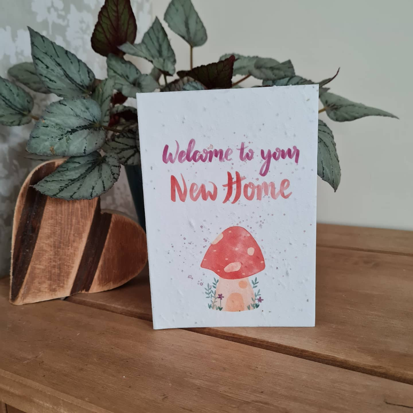 Plantable Wildflower Welcome To Your New Home Seed Card