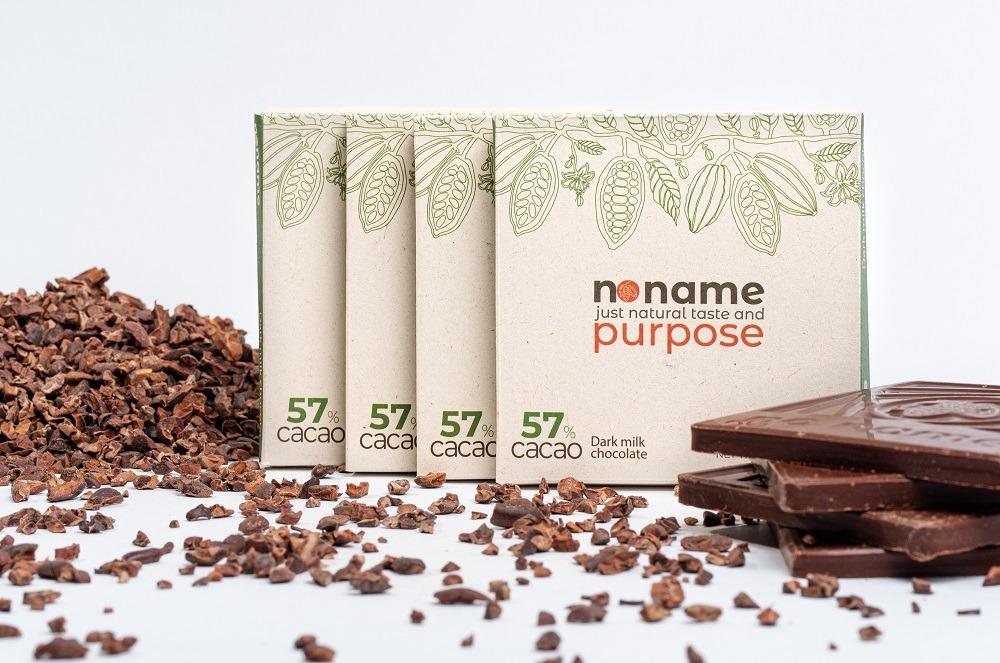 Dark milk chocolate 57% cacao Kind Shop