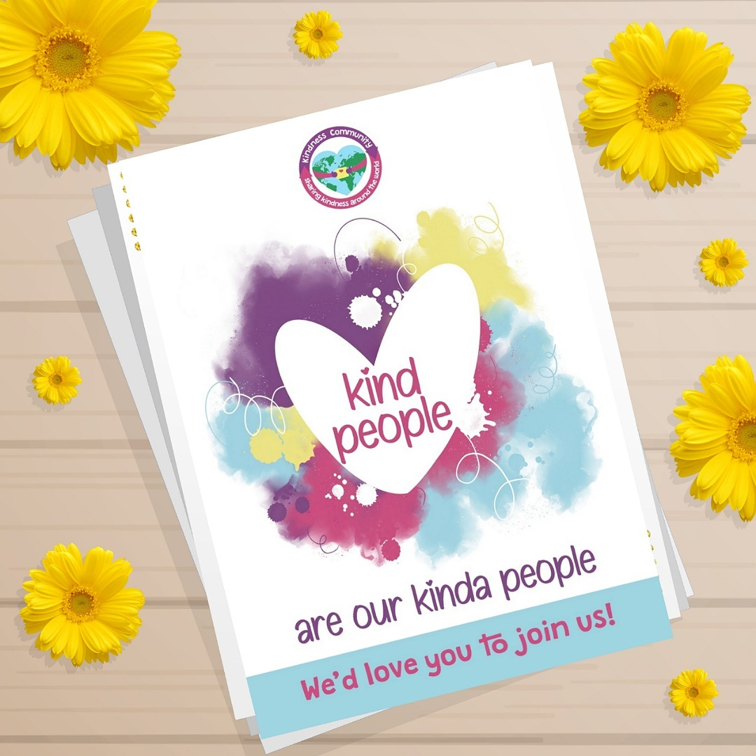 Positive postcards to share kindness and joy. Ideal as random acts of kindness. Kind Shop