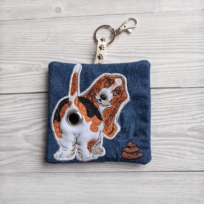 Basset Hound Eco Plastic Free Dog Poo Bag Holder Kind Shop