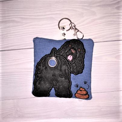 Cocker Spaniel Eco Plastic Free Dog Poo Bag Holder – black Kind Shop