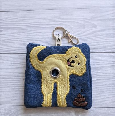 Golden Retriever Eco Plastic Free Dog Poo Bag Holder – Kind Shop