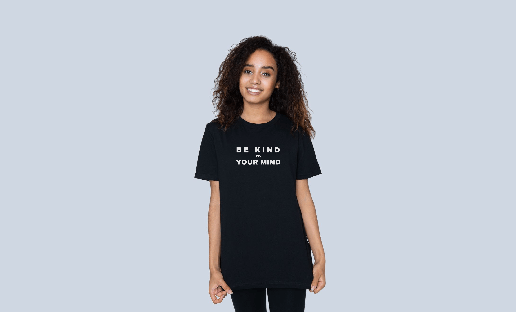 Be Kind to your mind t shirt mental health