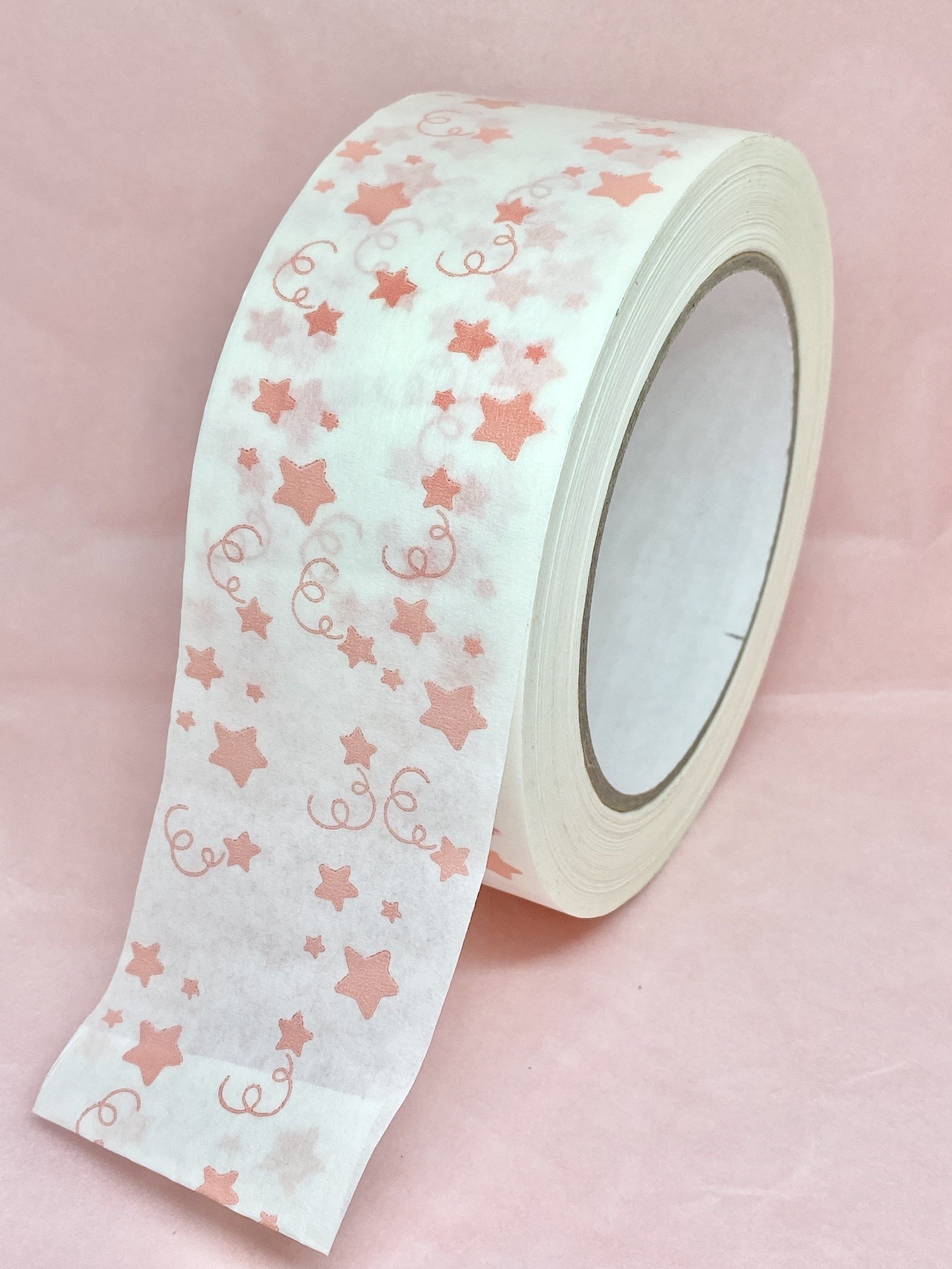 Eco friendly paper tape, paper packing tape, kraft paper tape, recyclable paper tape, cute packing tape, printed packing tape, Kind Shop 2