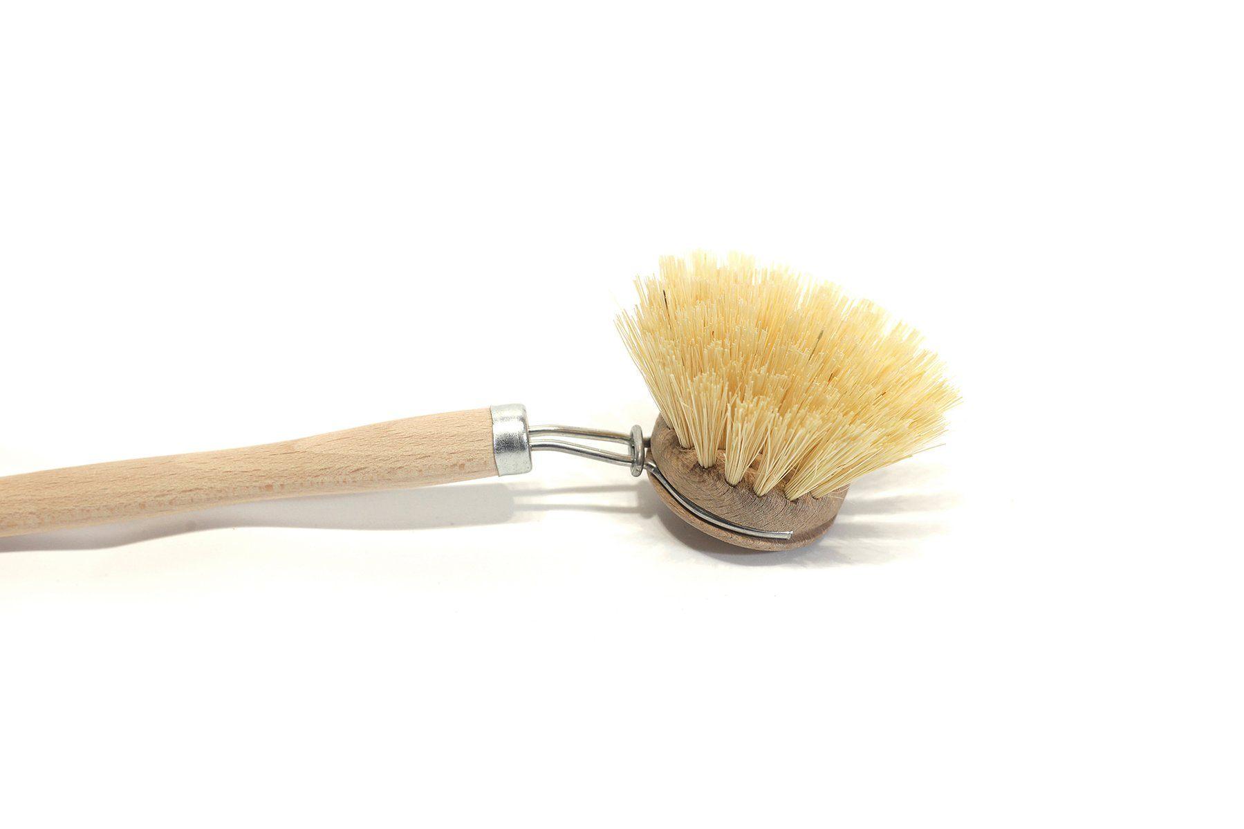 Redecker Wooden Dish Brush with Vegan Bristles wood