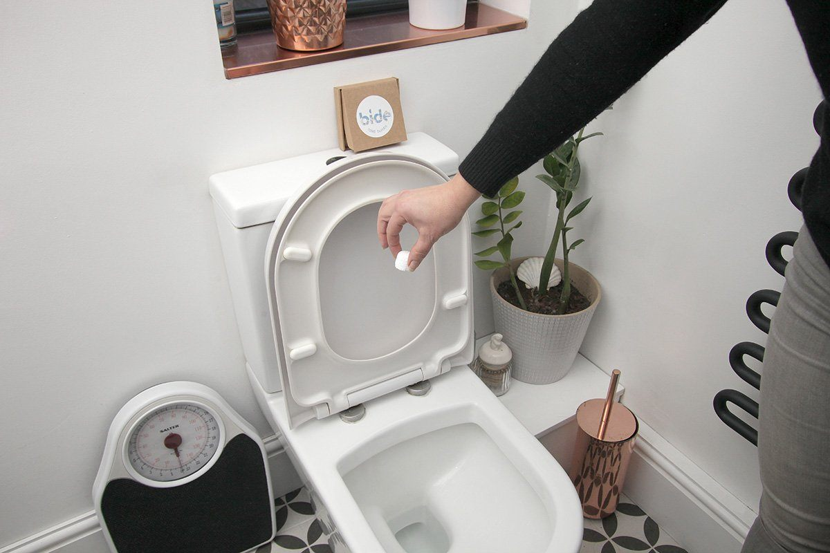 bide Eco-Friendly Toilet Cleaning Bombs how to use