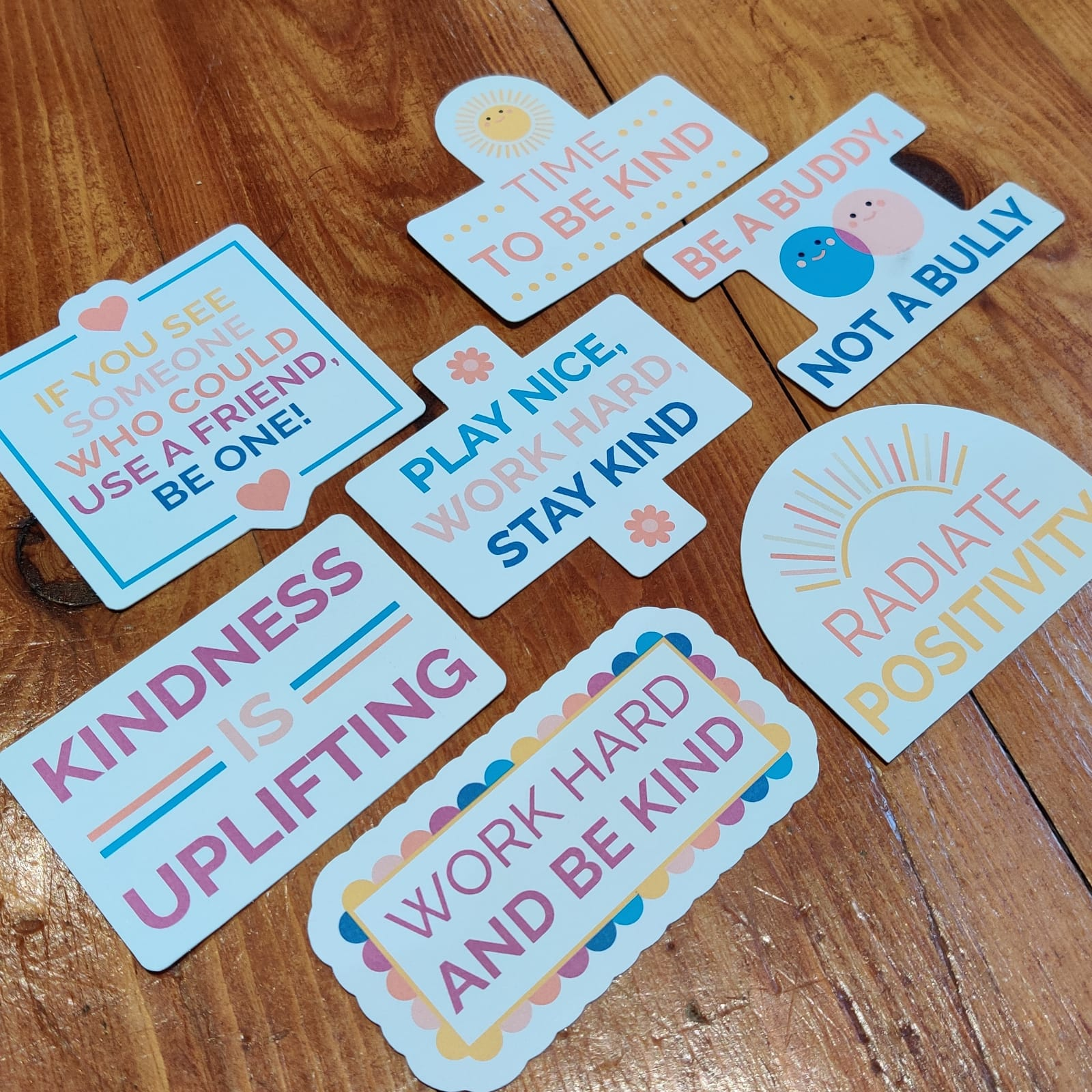 Kindness Positive Stickers   Mental Health Support   Positive Reminder   Encouragement   Positive Stickers   Anxiety   Charity Donation Kind Shop 3