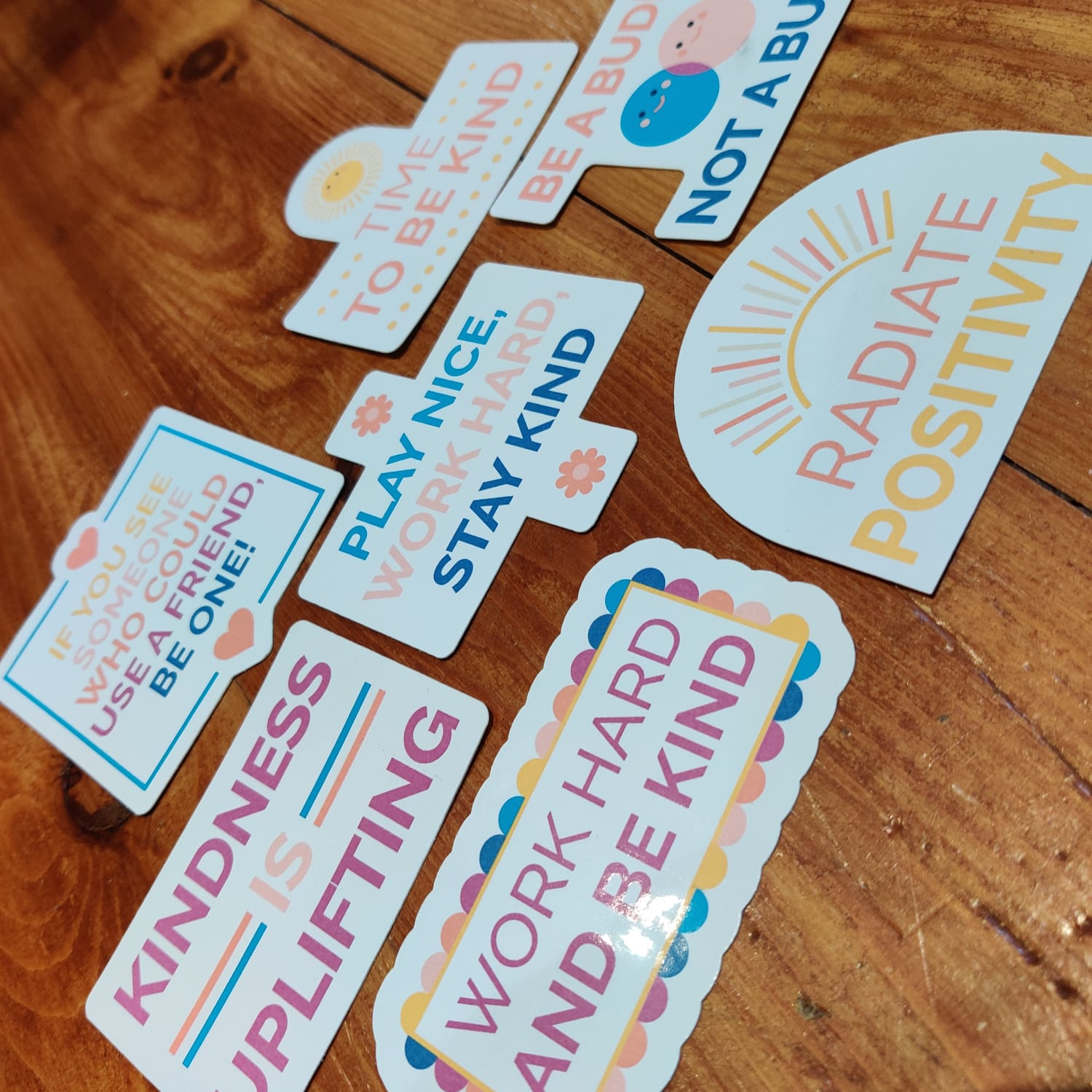 Kindness Positive Stickers   Mental Health Support   Positive Reminder   Encouragement   Positive Stickers   Anxiety   Charity Donation Kind Shop 2