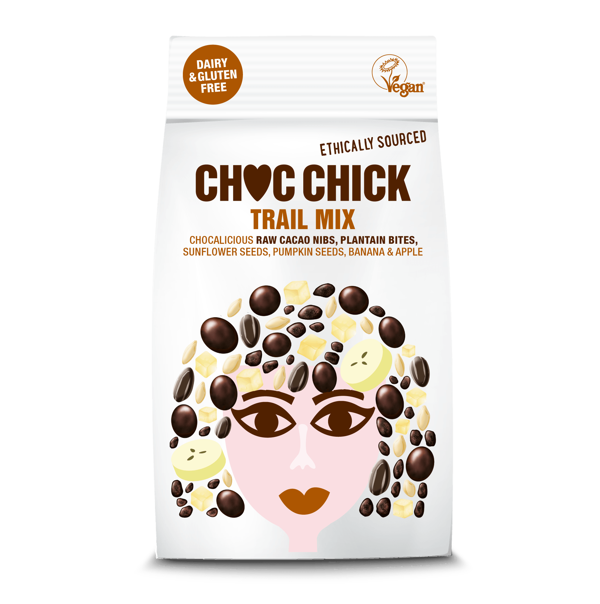 CHOC CHICK Organic Raw Chocolate Trail Mix (120g or case of 10) Kind Shop 2