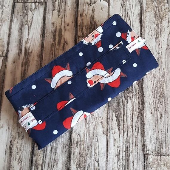 Eco-Friendly Fully Lined Reusable Christmas Gift Bag Storage Bag | Foxy Santa Kind Shop 8