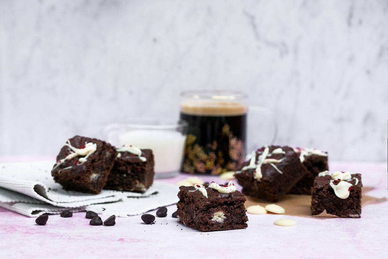 DIY Raspberry White Chocolate Brownies Baking Kit Kind Shop