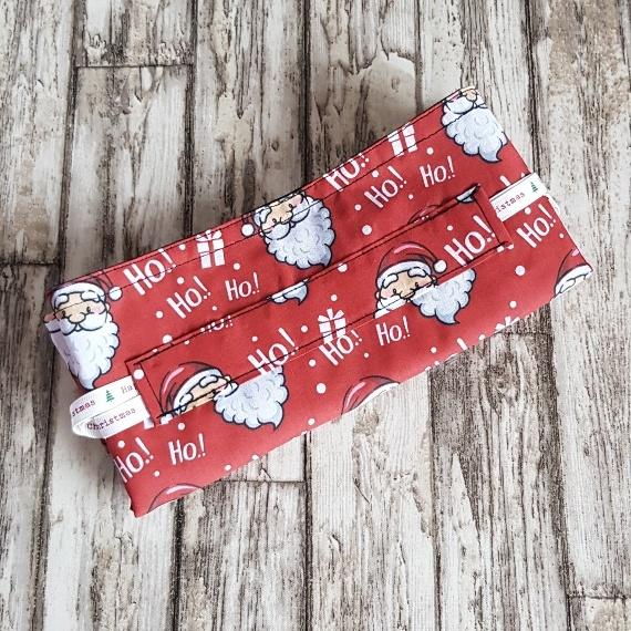 Eco-Friendly Fully Lined Reusable Christmas Gift Bag Storage Bag | Santa Print Kind Shop 8