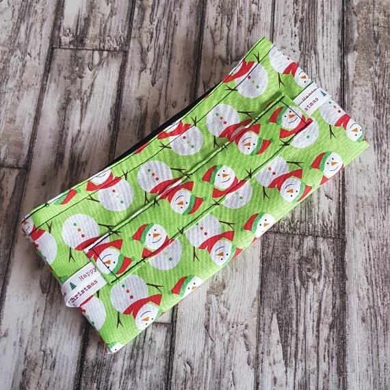 Eco-Friendly Fully Lined Reusable Christmas Gift Bag Storage Bag | Snowmen Kind Shop 8