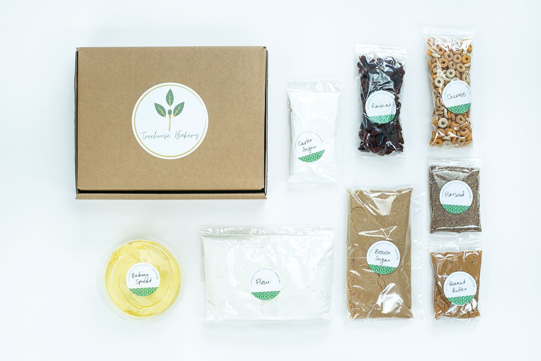 DIY Cheerio Cookie Cups Baking Kit (vegan) Kind Shop 3